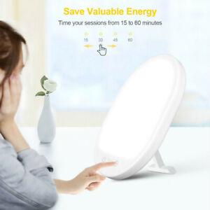 SAD Therapy Light Daylight Seasonal Affective Disorder Phototherapy Lamp 3 Modes