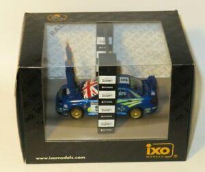 1/43 Subaru Impreza WRC  Network Q Rally GB 2001  Richard Burns Champion Podium