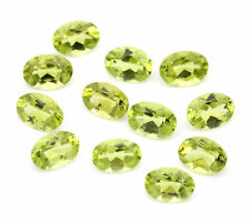 Natural Peridot - Faceted Oval Stones - 10.45ct D10-2572