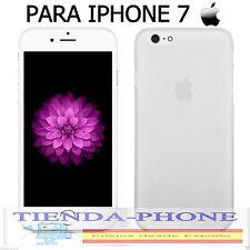 FUNDA blanca CARCASA Protector ULTRAFINA MATE PARA iPhone 7 protege esquinas