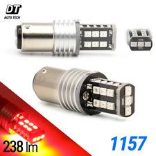 2X 1157 50W Red LED Rear Brake Stop High Power Tail Lamp Light Bulbs BAY15D
