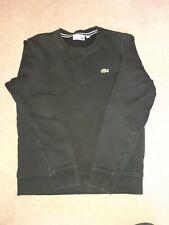 Mens Lacoste Black Sweatshirt  - Size FR3/ US S