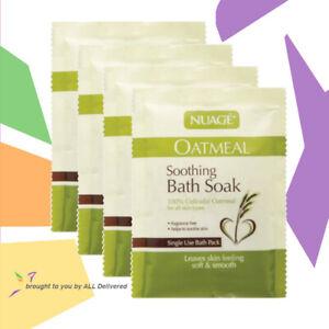 Nuage Soothing Bath Soak 100% Colloidal Oatmeal Itchy Dry Skin