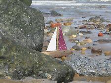 Wooden Boat-Driftwood BARCA-Muro Appeso barca-barca fatto a mano-Wall Decor
