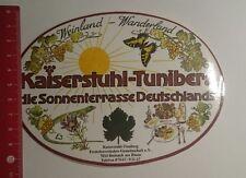 Aufkleber/Sticker: Kaiserstuhl Tuniberg Sonnenterrasse Deutschlands (29011755)