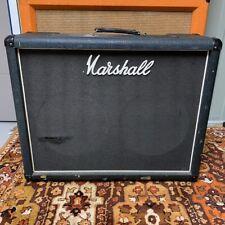 Vintage 1977 Marshall JMP 2x12 Guitar Combo Cabinet EMPTY Unloaded