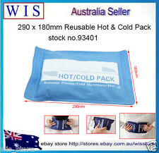Reusable Hot & Cold Pack,Freezer,Boil or Microwave,290 x 180mm,Blue-93403