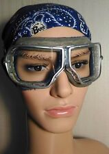 Authentic Soviet Army Aviation Pilot Tankman Protective glasses Goggles
