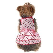 Vestiti e scarpe rosse senza marca per cani