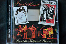 Procol Harum Live At The Hollywood Bowl 1973 CD New + Sealed