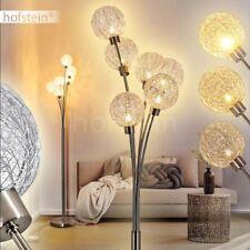 moderne Wohn Schlaf Zimmer Beleuchtung silberne Steh Stand Boden Lampen dimmbar