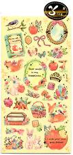 Fairy Tale Vintage Look Sticker Sheet stickers kawaii Japan Pastel B