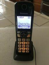 Panasonic Kx-Tgfa51B Dect6.0 Digital Additional Accessory Cordless Phone Handset