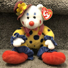 Ty Beanie Babies Bear Juggles The Clown Plush New W/Tag