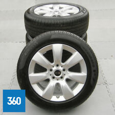 "NEW GENUINE MINI COUNTRYMAN F60 17"" 530 IMPRINT SPOKE ALLOY WHEELS PIRELLI TYRES"
