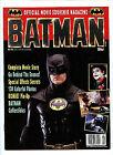 Batman Topps Official Movie Souvenir Collector's Magazine #1 New nm/m 1989 H14