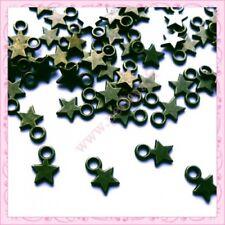 50 petites breloques étoiles bronze REF000057