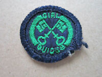 Housekeeper Interest Proficiency Girl Guides Woven Cloth Patch Badge