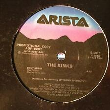 "The Kinks - Do It Again 12"" Mint- ADP-9297 Clear Vinyl Audiophile RL Ludwig 1st"