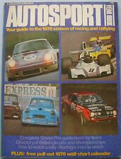 Autosport Yearbook 1976 Grand Prix Teams & Circuits British Circuits Rallying +