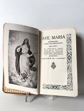 Holy Land Ave Maria Book Kerkboek Voor Katholieken Vintage Very Old  1941