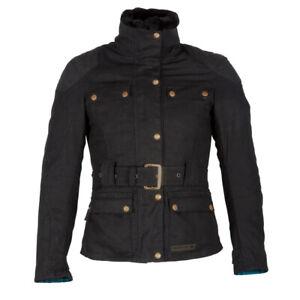 Spada Hartbury Motorcycle Motorbike Touring Ladies Textile CE Jacket - Black