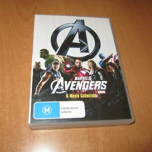 MARVEL'S THE AVENGERS ( 6 MOVIE / 6-DISC SET COLLECTION ) DVD REGION 4