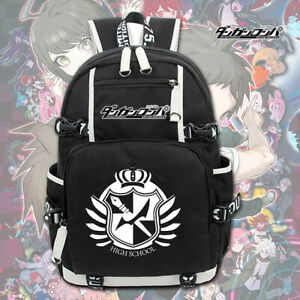 Anime Danganronpa Monokuma School bag Kids Backpack Shoulder travel Knapsack Bag