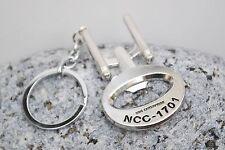 Star Trek Enterprise Botttle Opener Key Ring Keychain UK Seller Fast Delivery