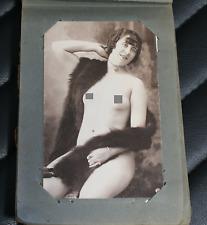 LOTTO cartoline nudo femminile - riproduzioni di foto d'epoca n°47 non viaggiate