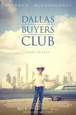DALLAS BUYERS CLUB ORIGINAL 27x40 MOVIE POSTER (2013) MCCONAUGHEY & LETO