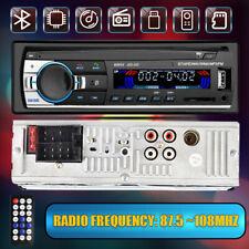 New listing 1 Single Din Car Stereo Radio In Dash Bluetooth Fm Mp3 Sd/Usb Aux 12V Head Unit