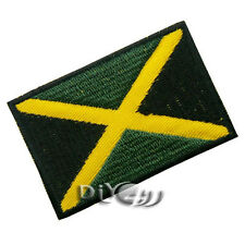 Jamaica National Flag Patch Embroidered  Sew or Iron on Patch