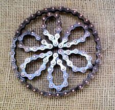 Recycled Bike Bicycle Chain TRIVET POT STAND metal Noah's Ark fair trade NEW!