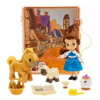 Disney Store Animator's Collection Belle Mini Doll Playset