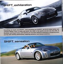 Nissan 350Z 2006-07 UK Market Sales Brochure Coupe Roadster GT