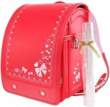 Japanese school bag RANDOSERU Coulomb RED for kids backpack 2021 model