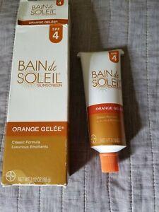 Bain De Soleil Orange Gelee SPF 4 Sunscreen 3.12 oz