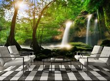 Heo Suwat Waterfall  Photo Wallpaper Wall Mural DECOR Paper Poster Free Paste