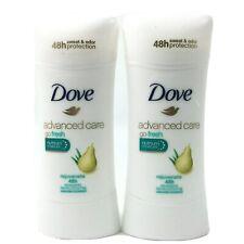 Dove Advanced Care Go Fresh Nutrium Moisture Rejuvenate Antiperspirant Pear 2PK