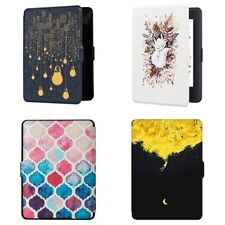 Funda Inteligente EBook para Amazon Kindle Paperwhite 1 2 3 Funda de Cuero  I5J3