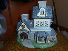 Partylite Candle Holder Olde World Village #1 Candle Shoppe
