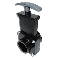 """Valterra 1 1/2"""" Dump valve RV Drain Sewer Waste Valve Assembly Hub Spigot"""