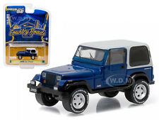 1990 JEEP WRANGLER YJ HARDTOP COUNTRY ROADS 14 1/64 MODEL BY GREENLIGHT 29830 D
