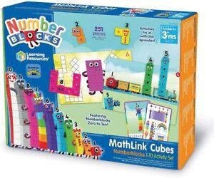 CBeebies Numberblocks 1-10 Maths Activity Set: Learning Resources MathLink Cubes