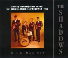 The Early Years 1959-1966 [Expanded Edition] by The Shadows (CD, Sep-2013, 6 Discs, Parlophone)