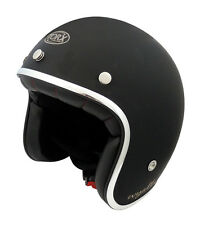 CASCO VINTAGE MOTORCYCLE SCOOTER HELMET CUSTOM RETRO