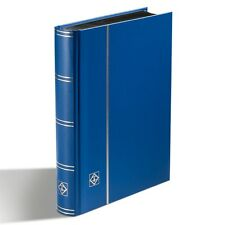 Stockbook Album for Stamps DIN A5 LEUCHTTURM 339365 Blue Stamp Collection Album