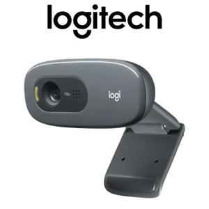 Logitech C270 Webcam HD 720p Widescreen Laptop Computer Video Calling Camera