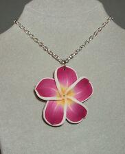 XL Hawaii Kette Blüte fuchsia Rockabilly Blume Hawai Exotic Hibiscus Necklace